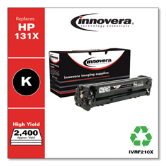 IVRF210X - Innovera Remanufactured CF210X (131X) High-Yield Toner, 2300 Page-Yield, Black