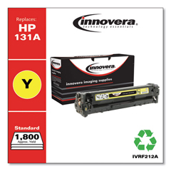 IVRF212A - Innovera Remanufactured CF212A (131A) Toner, 1800 Page-Yield, Yellow