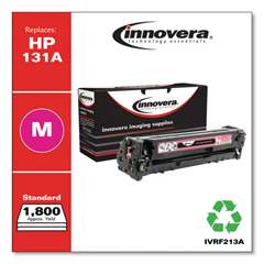 IVRF213A - Innovera Remanufactured CF213A (131A) Toner, 1800 Page-Yield, Magenta
