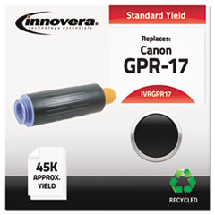 IVRGPR17 - Innovera Remanufactured 0279B003AA (GPR17) Toner, 45000 Yield, Black