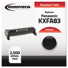 IVRKX83 - Innovera Compatible with KXFA83 Laser Toner, 2500 Yield, Black