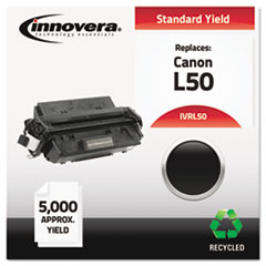 IVRL50 - Innovera Remanufactured 6812A001AA (L50) Toner, 5000 Yield, Black