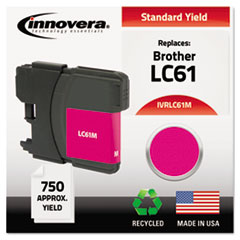 IVRLC61M - Innovera Remanufactured LC61M Ink, 325 Page-Yield, Magenta