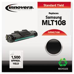 IVRMLT108 - Innovera Remanufactured MLT-D108S Toner, 1500 Page-Yield, Black
