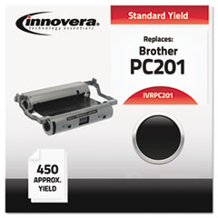 IVRPC201 - Innovera PC201 Compatible, Remanufactured, PC201 Thermal Transfer, 450 Page-Yield, Black