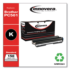 IVRPC501 - Innovera Compatible with PC501 Thermal Transfer, 150 Page-Yield, Black