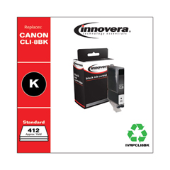 IVRPCLI8BK - Innovera Remanufactured CLI-8BK (CLI8BK) Ink, 412 Yield, Black