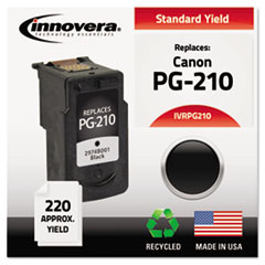 IVRPG210 - Innovera Remanufactured 2974B001 (PG-210) Ink, 220 Page-Yield, Black
