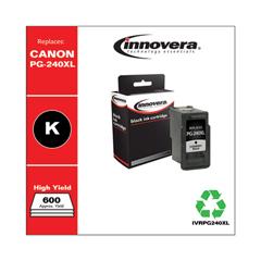 IVRPG240XL - Innovera Remanufactured 5206B001 (PG-240XL) High-Yld Ink, 300 Page-Yld, Black