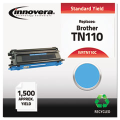 IVRTN110C - Innovera Remanufactured TN110C Toner, 1500 Page-Yield, Cyan