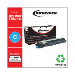 IVRTN210C - Innovera Remanufactured TN210C Toner, 1400 Page-Yield, Cyan