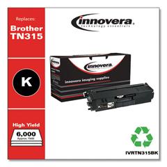 IVRTN315BK - Innovera Remanufactured TN315BK Toner, 6000 Yield, Black