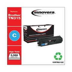 IVRTN315C - Innovera Remanufactured TN315C Toner, 3500 Yield, Cyan