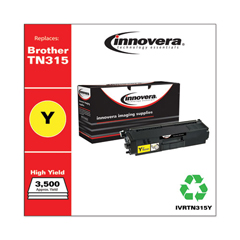 IVRTN315Y - Innovera Remanufactured TN315Y  Toner, 3500 Yield, Yellow