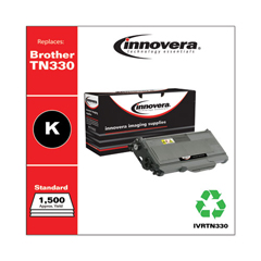 IVRTN330 - Innovera Remanufactured TN330 Laser Toner, 1500 Page-Yield, Black