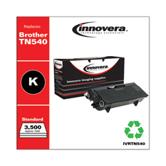 IVRTN540 - Innovera Remanufactured TN540 Laser Toner, 3500 Page-Yield, Black