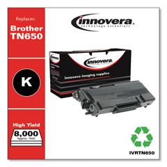 IVRTN650 - Innovera Remanufactured TN650 Laser Toner, 8000 Page-Yield, Black