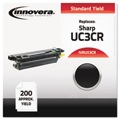 IVRUX3CR - Innovera UX3CR Compatible, Remanufactured, UX3CR  Thermal Transfer, 200 Yield, Black