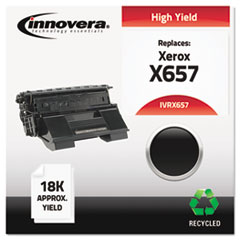 IVRX657 - Innovera Remanufactured 113R00657 (Phaser 4500) Toner, 18000 Yield, Black