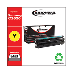 IVRY505L - Remanufactured SU514A (CLT-Y505L), High-Yield, Toner, 3500 Page-Yield, Yellow