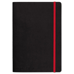 JDK400065000 - Black n Red™ Black Soft Cover Notebook