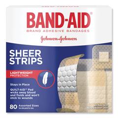 JOJ4669 - BAND-AID® Tru-Stay Sheer Strips Adhesive Bandages