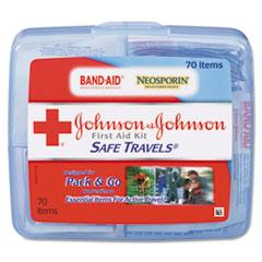 JOJ8274 - Johnson & Johnson® Safe Travels™ Portable First Aid Kit