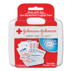 JOJ8295 - Johnson & Johnson® Mini First Aid To Go Kit