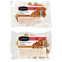 JUL00297 - Julian's RecipeBelgian Pastry Waffles™, Cinnamon & Maple Variety Case - 24/Case
