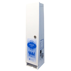 HSCK20H-25 - HospecoSanitary Napkins Vendor Dispenser - 25 Cent Charge Dispenser