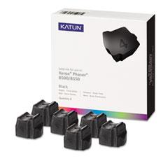 KAT39391 - Katun KAT39391 Phaser 8500 Compatible, 108R00672 Solid Ink, 6000 Yld, 6/Box, Black