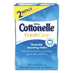 KCC35970CT - Cottonelle® Fresh Care Flushable Cleansing Cloths
