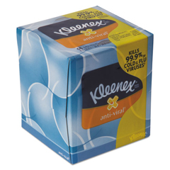 KCC37303CT - Kleenex® Anti-Viral Facial Tissue