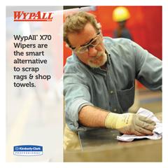 KIM41455 - WYPALL X70 Cloths, POP-UP Box