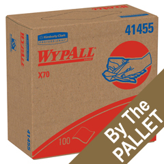 KCC41455-PL - Kimberly Clark ProfessionalKimberly Clark Professional WYPALL* X70 Manufactured Rags in POP-UP* Box