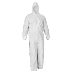 KCC42526 - KleenGuard A40 Breathable Back Coverall with Thumb Hole