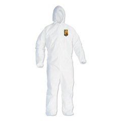 KCC44324 - KLEENGUARD A40 Elastic-Cuff and Ankles Hooded Coveralls