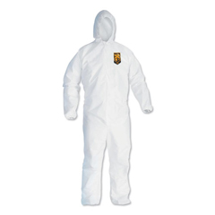KCC44325 - KLEENGUARD A40 Elastic-Cuff and Ankles Hooded Coveralls