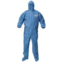KCC45096 - A60 Elastic-Cuff and Back Hood and Boot Coveralls