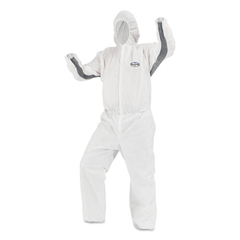 KCC46143 - KleenGuard A30 Breathable Splash and Particle Protection iFLEX Stretch Coveralls