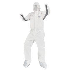 KCC46175 - KleenGuard A30 Breathable Splash and Particle Protection iFLEX Stretch Coveralls