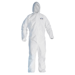 KCC49117 - KLEENGUARD A20 Elastic Back and Cuff Hooded Coveralls