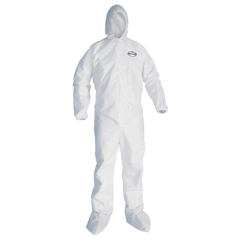 KCC49124 - KLEENGUARD* A20 Elastic Back and Cuff Hood and Boot Coveralls