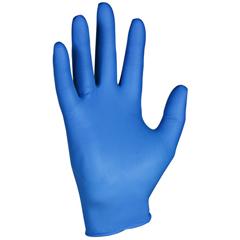 KCC90099 - KLEENGUARD* G10 Arctic Blue Nitrile Gloves - X Large