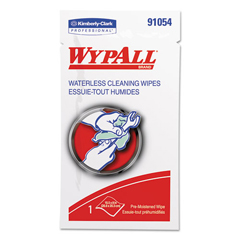 KCC91054 - WypAll Waterless Cleaning Wipes