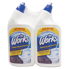 KIK33302WK - The Works® Disinfectant Toilet Bowl Cleaner
