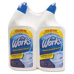 KIK33302WKCT - The Works® Disinfectant Toilet Bowl Cleaner