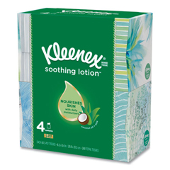 KIM25834 - KIMBERLY-CLARK PROFESSIONAL* KLEENEX® Lotion Facial Tissue