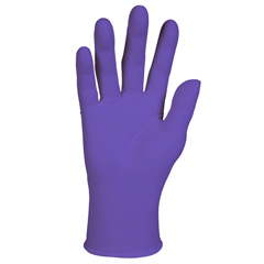 KCC55084 - Purple Nitrile* Exam Gloves - X Large