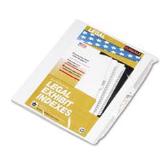 KLF80011 - Kleer-Fax® 80000 Series Alpha Side Tab Legal Index Divider